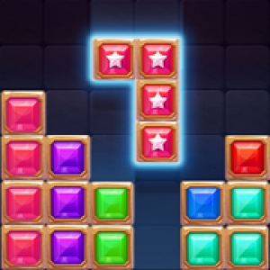 23. blcok puzzle star gem